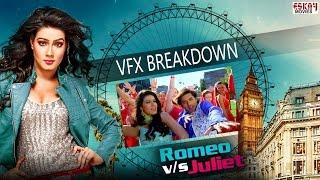 VFX Breakdown I Romeo VS Juliet | Ankush | Mahiya Mahi