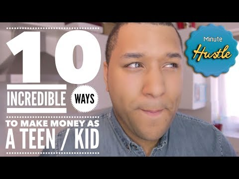 10 Incredibe Ways To Make Money As A Teen / Kid | Money Making Tips For School