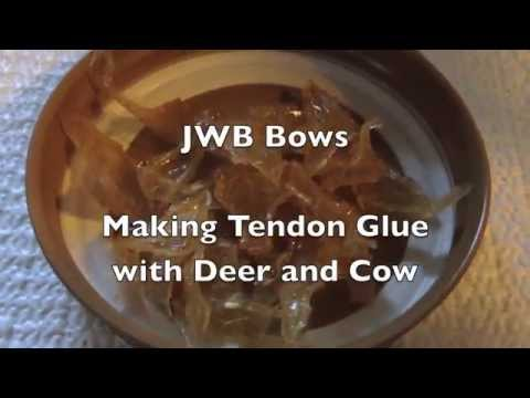 Making Tendon Glue with Deer and Cow