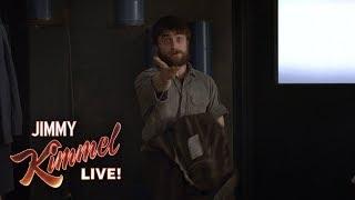 Download Daniel Radcliffe Eats Spoonfuls of Mustard Video
