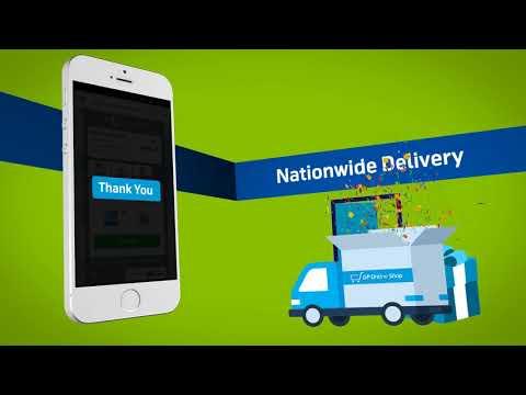GP Online Shop Launch Animation