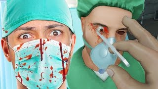 BECOME A DOCTOR IN VIRTUAL REALITY !!! (Surgeon Simulator VR)
