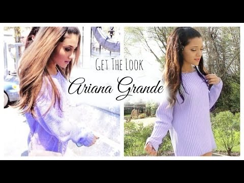 Get The Look: Ariana Grande | Makeup, Hair, & Outfit