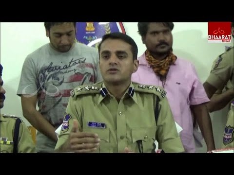 International Call Diverting Gang Arrested By Police In Hyderabad | 1400 Sim Cards Seized