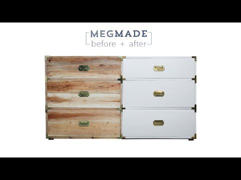 MegMade Before + After - Campaign Dresser