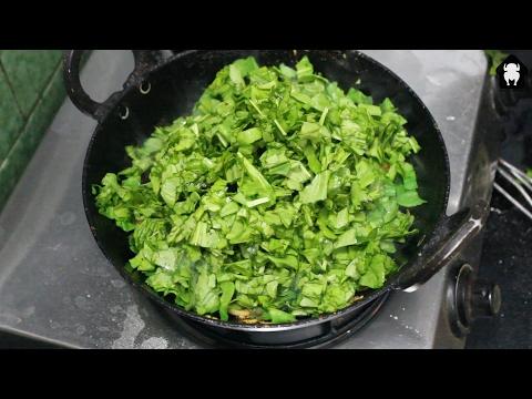 Palakura Curry   Spinach Curry @ Mana Telangana Vantalu