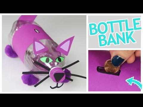 DIY Money Bank From a Plastic Bottle! - Do It, Gurl