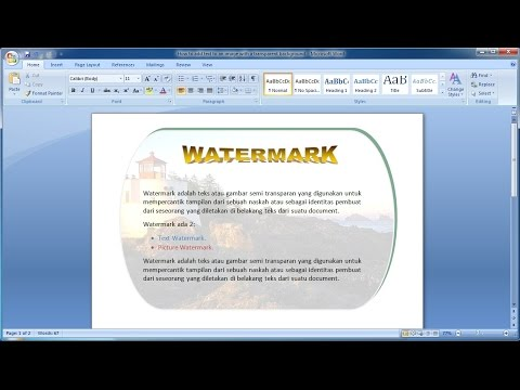 Microsoft word tutorial |How to add text to an image with a transparent background in Word