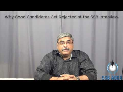 Why Good Candidates Get Rejected at the SSB Interview