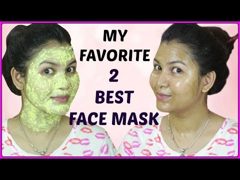 Get easily clear glowing skin with best of my 2 face mask/ Indian girl channel trisha