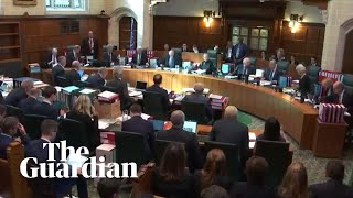 UK Supreme Court hears claims suspension of parliament is unlawful – watch live