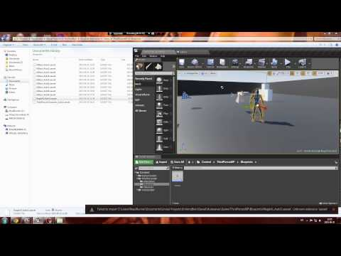 How To Load UASSET file in Unreal Engine 4