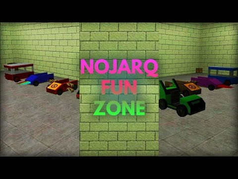 Overview Nojarq Fun Zone Map - Awesome Cars + Fun Maps