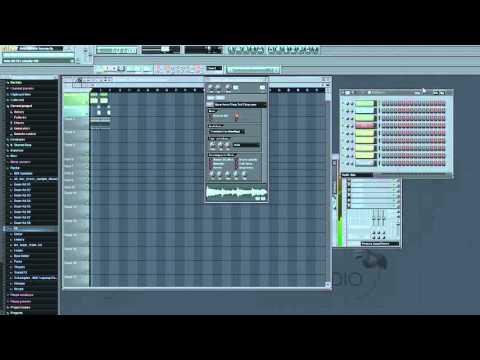 FL Studio Tutorial - How to make sample / sound stop