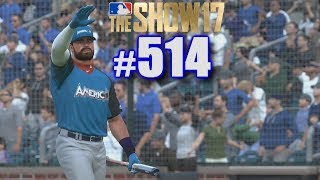 HOME RUN DERBY & ALL-STAR GAME AFTER THE TRADE! | MLB The Show 17 | Road to the Show #514