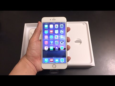 Apple iPhone 6 Plus 64 GB Gold Unlocked Unboxing + Comparison