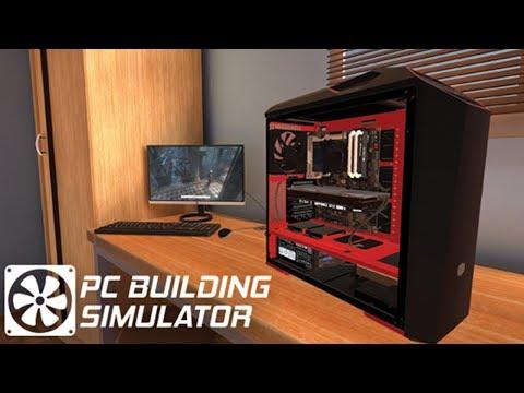 Building my PC in PC Building Simulator! (Live Stream)