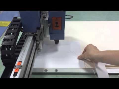 matboard CNC cutting table photo mount CNC cutter
