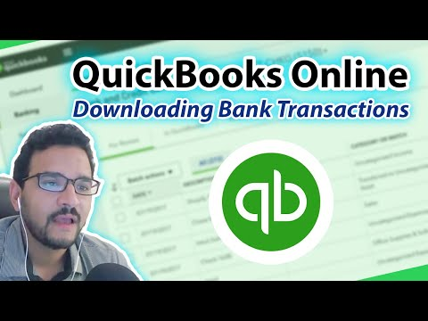 QuickBooks Online 2018 Tutorial: Downloaded Bank Transactions