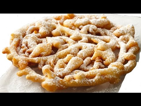 How to make funnel cake with pancake mix!