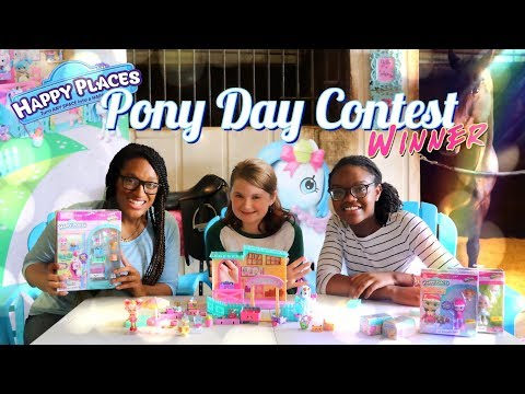 The Frog: Vlog SHOPKINS Happy Places Pony Day Winner! Meet & Greet | Horse Crafts & More