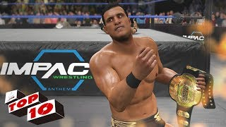 TOP 10 EPIC CUSTOM TITLES / CHAMPIONSHIPS IN WWE 2K17! (WWE, TNA, NXT, GFW)