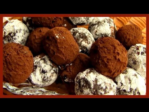Chocolate Truffles With Herbal Liqueur