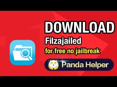 How to download Filzajailed for free on iPhone iOS11, no jailbreak no PC.
