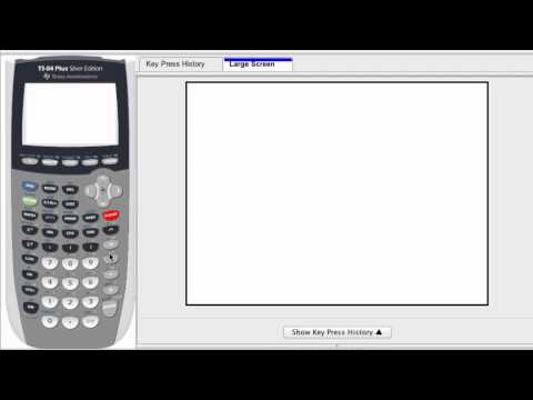 Graphing Calculator - Power Button