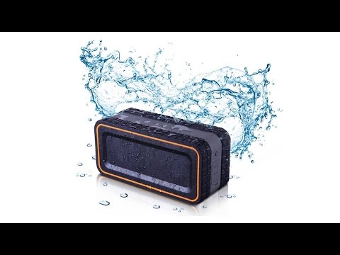Turcom Bluetooth AcoustoShock 30 watt Rugged Water Resistant Speaker