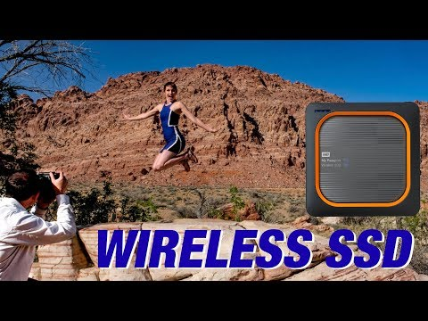 SSD with Wireless Back Up & Tethering on location