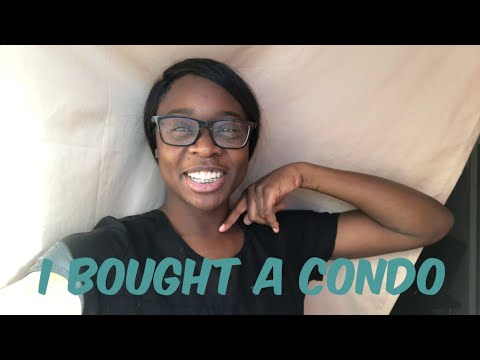 CONDO TOUR - I BOUGHT MY FIRST CONDO AT 22