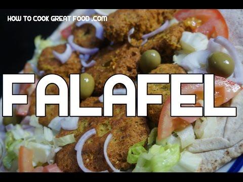 Falafel Recipe  - Arabic Middle Eastern Chickpeas Video  فلافل