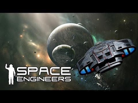 Federation Dry Dock - Lets Build a Starship (Space Engineers) (Stream)