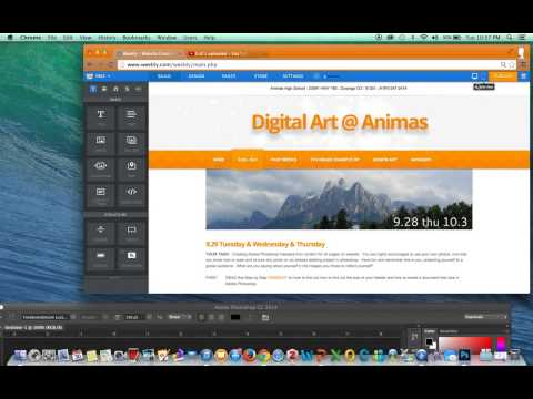 How to Check Header Size in Weebly & Create New Documents in Photoshop for that size