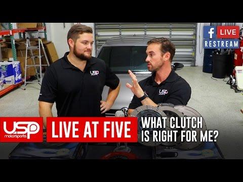 #LiveAt5   Clutches + Such   USP Motorsports