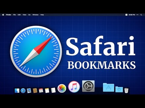 How to use Safari browser bookmarks (with Subtitles)