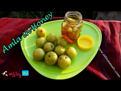 How to Preserve Amla in Honey (Storing Amla for Months) | Life Hacks by Attamma TV