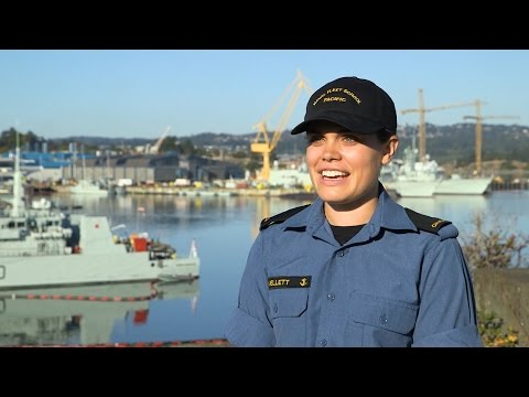 Naval Cadets Ep 1 | OS Mellett didn't want a desk job…