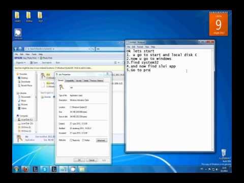 حل مشكلة ask for genuine microsoft software