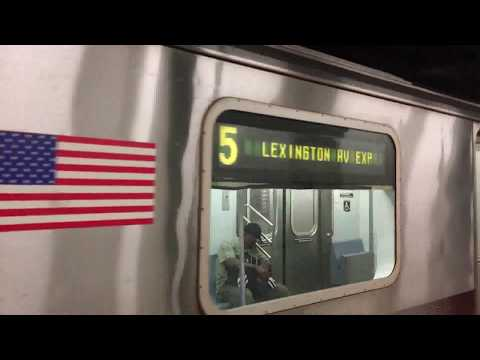 On-Board an 86th Street bound R142 (5) Train from Atlantic Avenue-Barclays Center to 86th Street