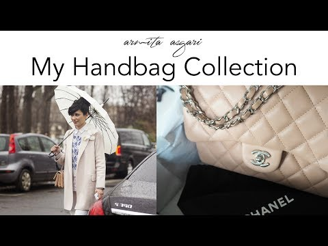 My Handbag Collection 2017 | Chanel | Hermes | Dior | YSL | Celine | Rodo | LV | Armita Asgari