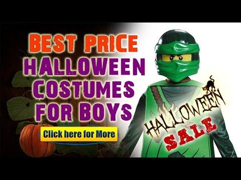 Cheap Boy Halloween Costumes - Ninjago LEGO Halloween Costumes For Kids!