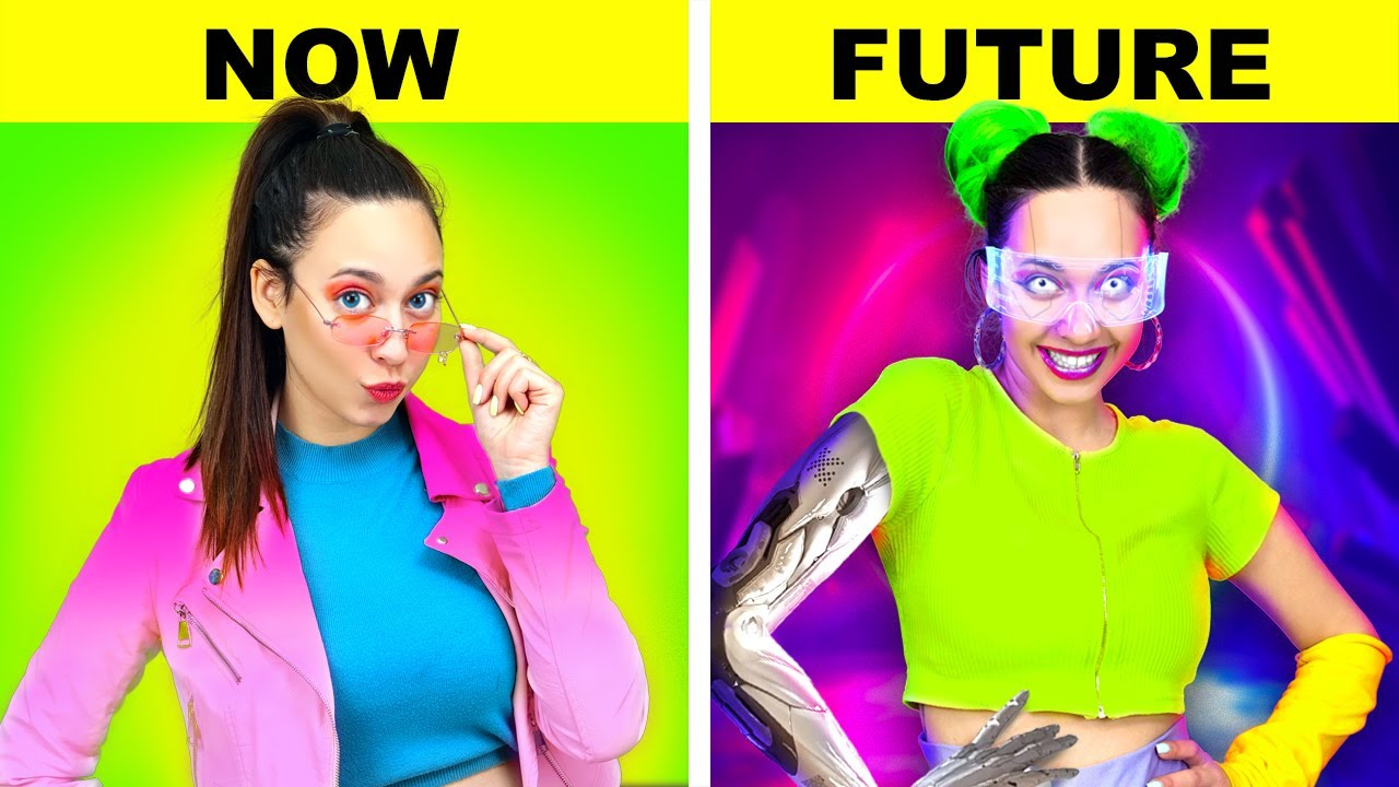 How To Become POPULAR | FUTURE vs NOW | Cyberpunk 2077 in Real Life – by La La Life Games