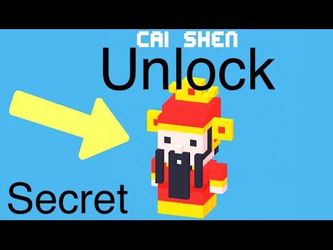 Crossy Road: Unlock Secret Character (Cai Shen)