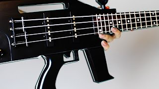 MACHINE GUN BASS SOLO