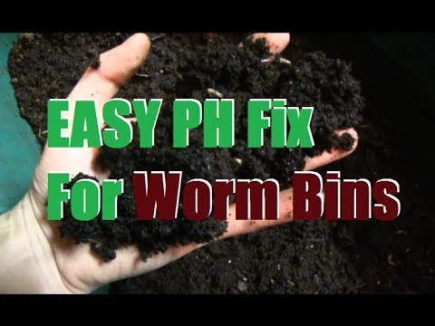 Troubleshooting PH Problems in Worm Bins