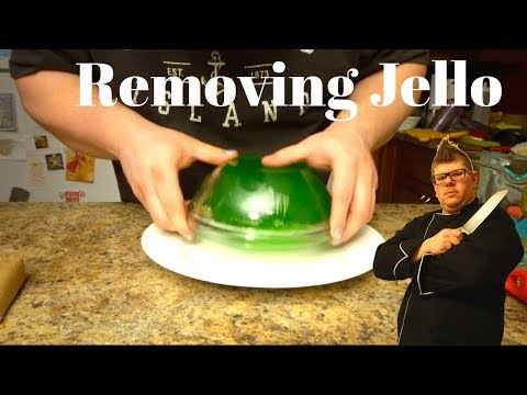 How To Remove Jello From Glass Bowl