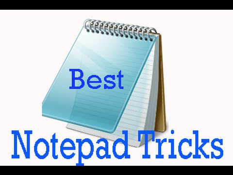 How to make notepad tricks to make simple vbs script in tamil