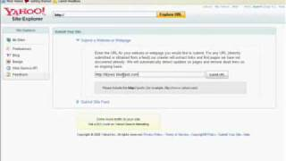 How To Submit Your Web/ Blog To Yahoo